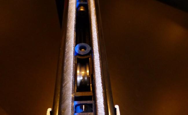 Chariot de Galet sur Menuiserie Aluminium