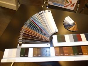 fenêtre pvc coloris
