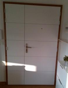 Installation d'une porte palière - Les Masters Menuisiers Toulon