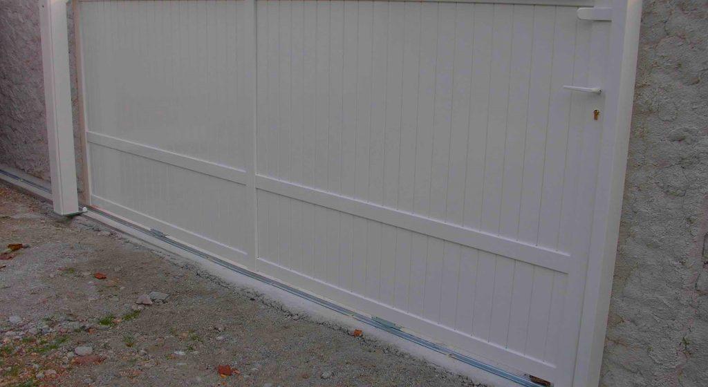 portail coulissant aluminium toulon - les masters menuisiers hyeres